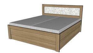 Úložný prostor k posteli Alleta