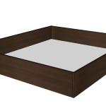 Úložný prostor k posteli Miu - TMAVÝ OŘECH