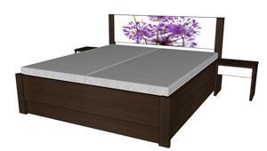 Úložný prostor k posteli Miu