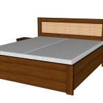 Úložný prostor k posteli Paloma - MAHAGON