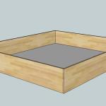 Úložný box pod dvoulůžko - Ilessi