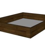 Úložný prostor ve formě boxu - TMAVÝ OŘECH