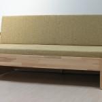 Luke bez zásuvky - varianta sedačka s čalouněnou matrací
