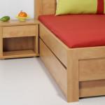 Noční stolek L20 + boční zásuvka L29 - HRUŠEŇ PLANÁ