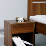 Noční stolek L201 - OŘECH AIDA