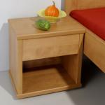 Noční stolek L201 - HRUŠEŇ PLANÁ
