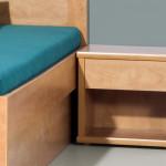 Noční stolek L20 - HRUŠEŇ PLANÁ