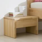 Noční stolek M03 - PŘÍRODNÍ LAK