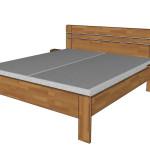 Felisa + noční stolek F75 - půlkulaté provedení
