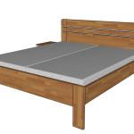 Felisa + noční stolek F78 - obdélníkové provedení