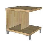 Noční stolek F64 - Ilessi