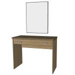Toaletní stolek + zrcadlo k posteli Alleta - TŘEŠEŇ ROMANA