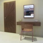 Toaletní stolek + Toaletní stolek + zrcadlo - OŘECH AMERICKÝ