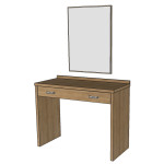 Toaletní stolek + zrcadlo - TŘEŠEŇ ROMANA