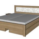 Zásuvky boční k posteli Alleta - TŘEŠEŇ ROMANA
