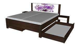 Zásuvka k posteli Miu