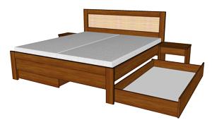 Zásuvka k posteli Paloma