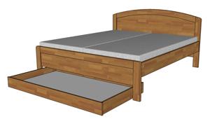 Zásuvky pod postel